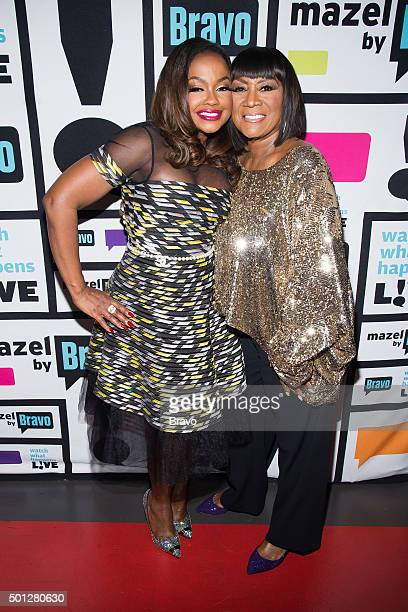 Phaedra Parks and Patti LaBelle