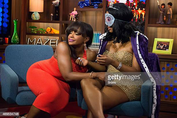 Phaedra Parks and Porsha Williams
