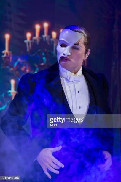 Phantom of the Opera on Friday, Jan. 26, 2018 --