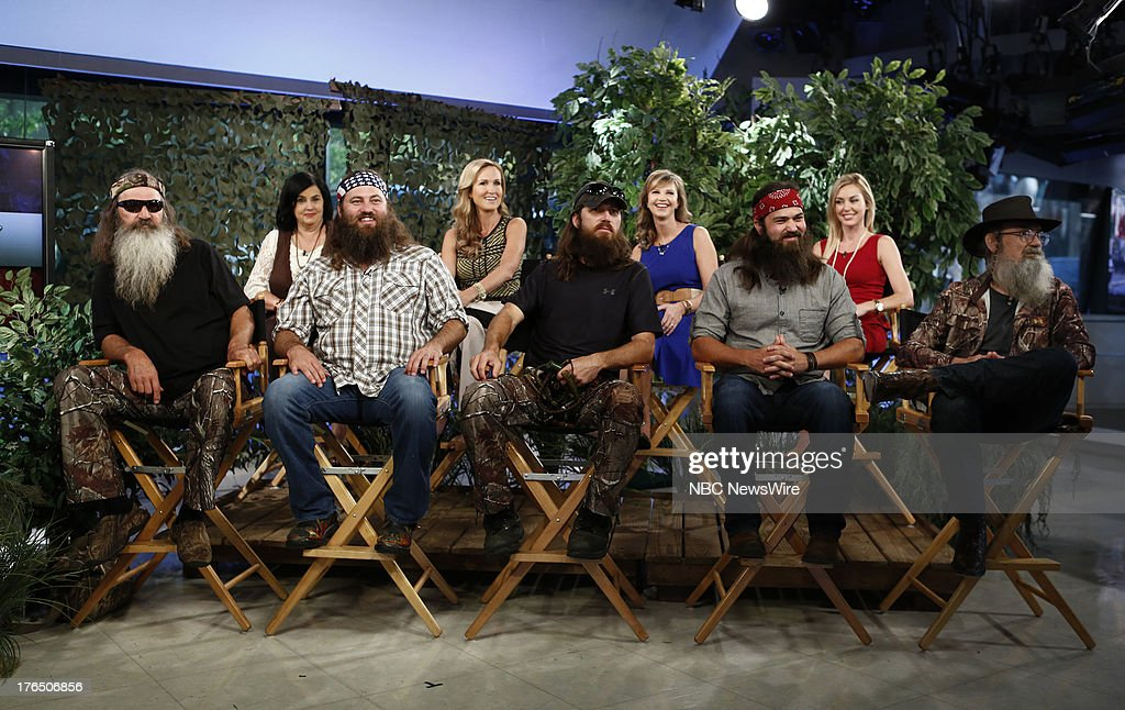 """NBC's """"Today"""" With Guests Cast of Duck Dynasty, Jesse McCartney, Norman King"""