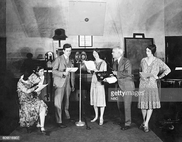 Phoebe Mackaye Tommy Brown George Frame Brown Edwin H Whitney Irene Hubbard Elsie Mae Gordon circa 1928