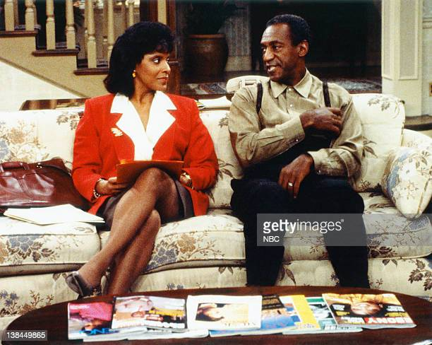 Pictured: Phylicia Rashad as Clair Hanks Huxtable, Bill Cosby as Dr. Heathcliff 'Cliff' Huxtable
