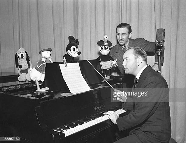 Pluto Donald Duck Mickey Mouse Minnie Mouse Walt Disney maestro Felix Mills