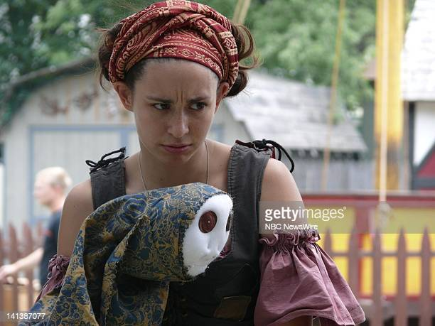 Polly Solomon As Little Gouda Gannouj, Gypsy -- The New York Renaissance Faire in Tuxedo, NY brings the past to the present. The faire serves as a...