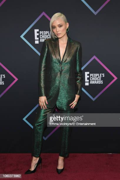 Pom Klementieff arrives to the 2018 E People's Choice Awards held at the Barker Hangar on November 11 2018 NUP_185068