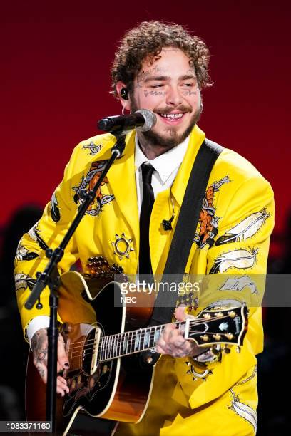 Pictured: Post Malone --