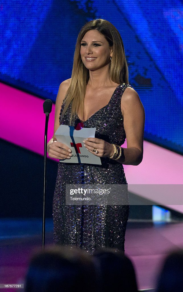 Presenter Daisy Fuentes at the 2013 Billboard Latin Music Awards held at the BankUnited Center, University of Miami in Miami, Florida on April 25, 2013 --