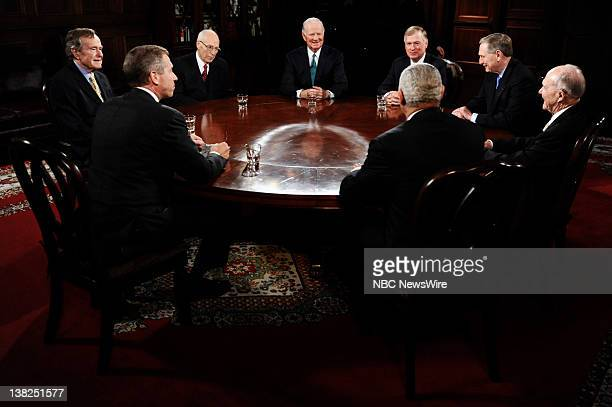 President George HW Bush Brian Williams Former Vice President Richard Cheney Former Secretary of State James Baker III Former Vice President...