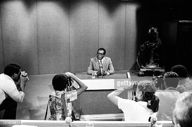Prime Minister of Zimbabwe Robert Mugabe on August 24 1980