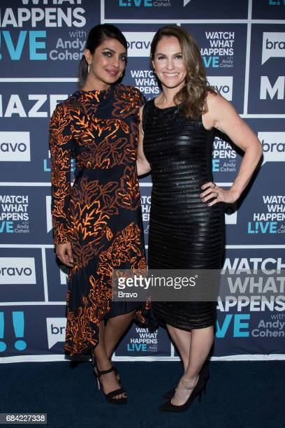 Priyanka Chopra and Amy Brenneman