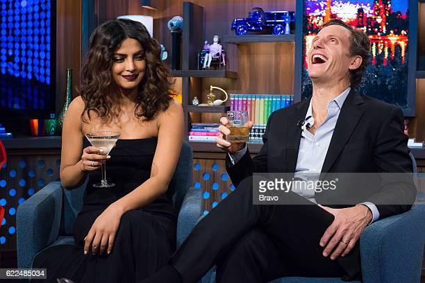 Priyanka Chopra and Tony Goldwyn