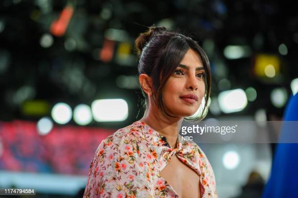 Priyanka Chopra Jonas on Tuesday, October 8, 2019 --