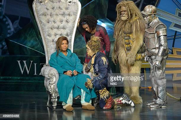 Queen Latifah as The Wiz Shanice Williams as Dorothy Elijah Kelley as Scarecrow David Alan Grier as Lion NeYo as TinMan