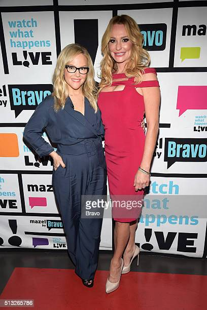 Rachael Harris and Taylor Armstrong