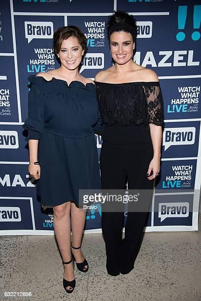 Rachel Bloom and Idina Menzel