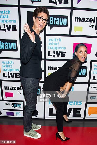 Rachel Maddow and Nicole Richie
