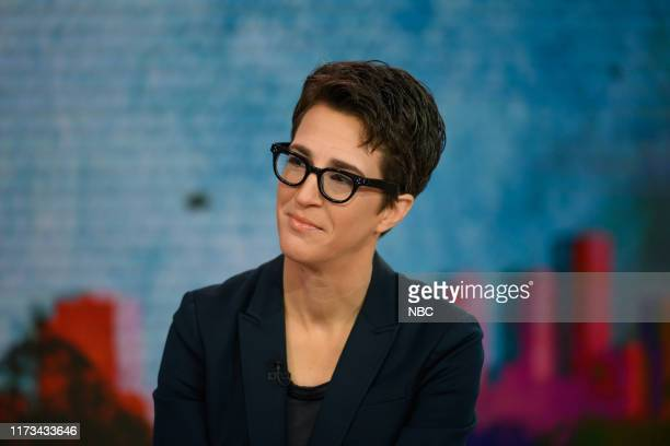 Rachel Maddow on Tuesday October 2 2019
