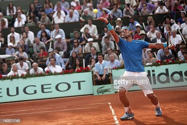 Rafael Nadal Photo by Thibault Camus/NBC/NBCU Photo Bank