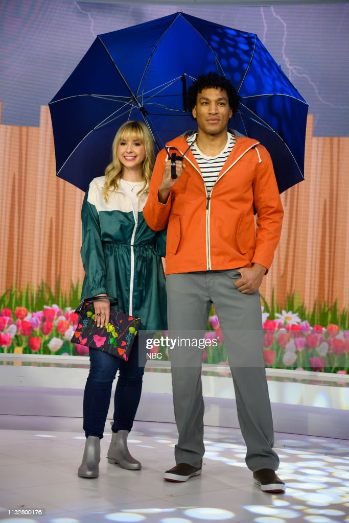 "NY: NBC's ""TODAY"" - Jennifer Nettles, Rainy Day Fashion, Puppies, Queer Eye, T-Pain, Natalie Morales, Monica Mangin, Vincent Oquendo, Hannah Gavios"