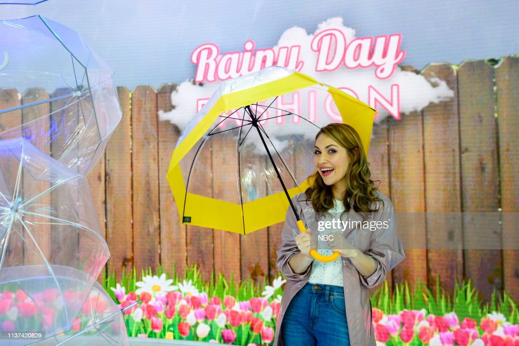 "NY: NBC's ""TODAY"" - Ed Helms, TD Jakes, Rainy Day Fashion, Kate del Castillo"