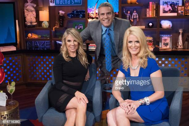 Ramona Singer Andy Cohen and Alex McCord