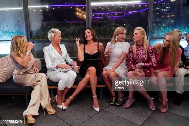 Pictured: Ramona Singer, Dorinda Medley, Luann de Lesseps, Sonja Morgan, Tinsley Mortimer, Leah McSweeney -- )