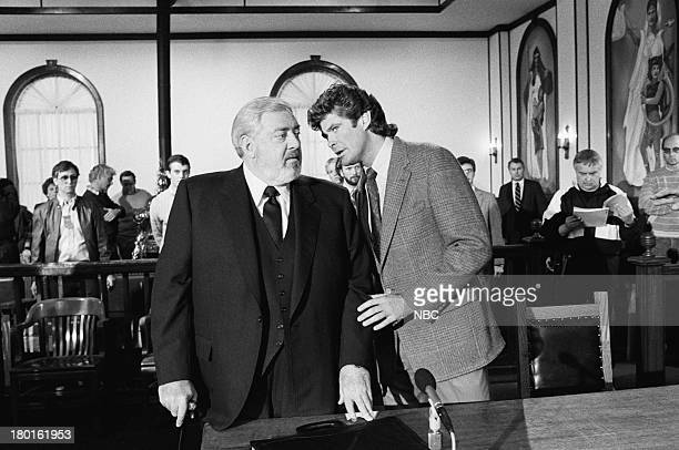 Raymond Burr as Perry Mason David Hasselhoff as Billy Travis