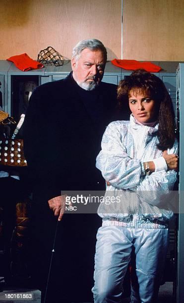 Raymond Burr as Perry Mason Shari Belafonte as Kathy Grant