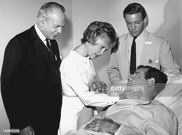 Raymond Massey as Dr Leonard Gillespie Georgann Johnson as Andrea Gaer Richard Chamberlain as Dr James Kildare Walter Matthau as Franklin Gaer Photo...