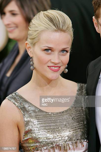 Reese Witherspoon arrives at The 63rd Annual Golden Globe Awards at the Beverly Hilton Hotel