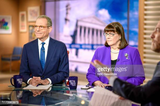 Pictured: Richard Stengel, Former Under Secretary for Public Diplomacy and Public Affairs, and O. Kay Henderson, News Director, Radio Iowa, appear on...