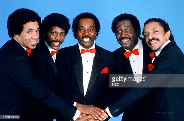 ROCK 'N' ROLL Pictured Richard Street AliOllie Woodson Melvin Franklin Otis Williams Ron Tyson of The Temptations