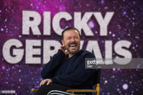 Ricky Gervais on Wednesday March 14 2018