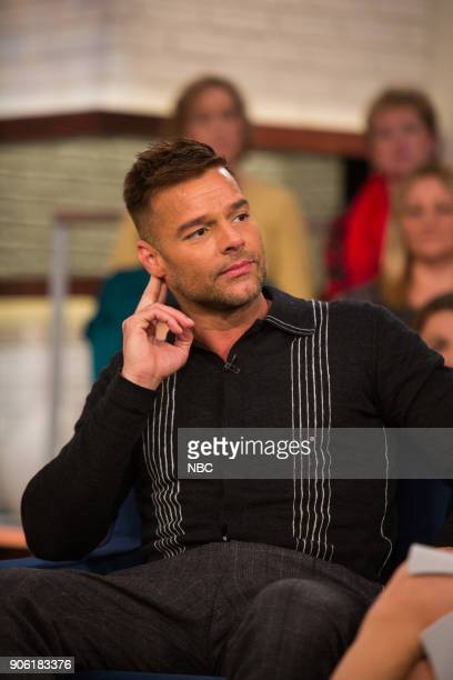 Ricky Martin and Megyn Kelly on Wednesday January 17 2018