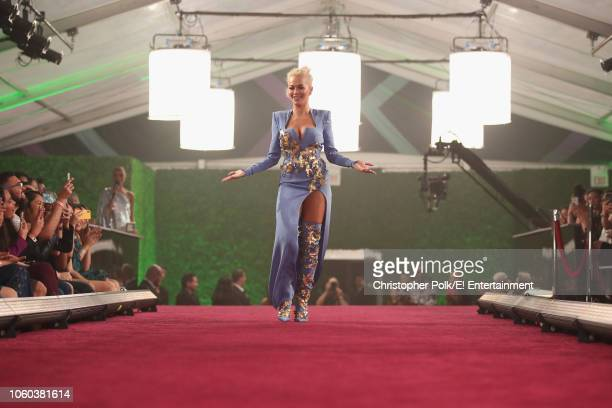 Rita Ora arrives to the 2018 E People's Choice Awards held at the Barker Hangar on November 11 2018 NUP_185070