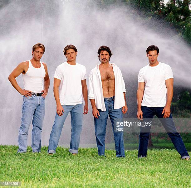Roark Critchlow as Dr Mike Horton Jensen Ackles as Eric Brady Peter Reckell as Bo Brady Austin Peck as Austin Reed