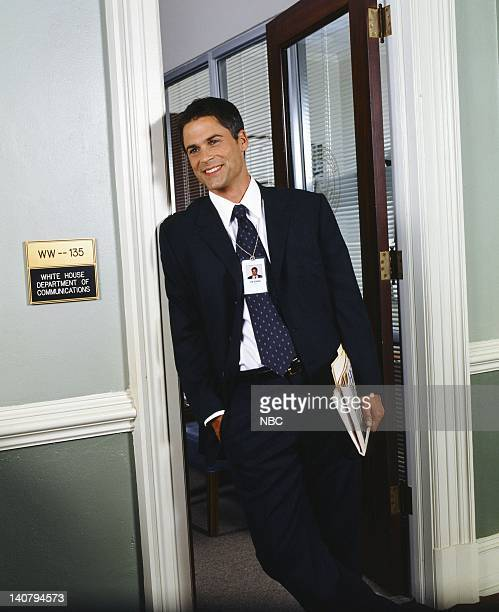 Rob Lowe as Sam Seaborn Photo by Steve Schapiro/NBC/NBCU Photo Bank