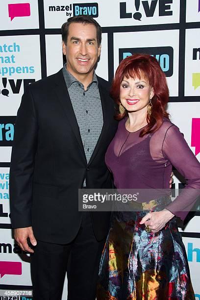 Rob Riggle and Naomi Judd
