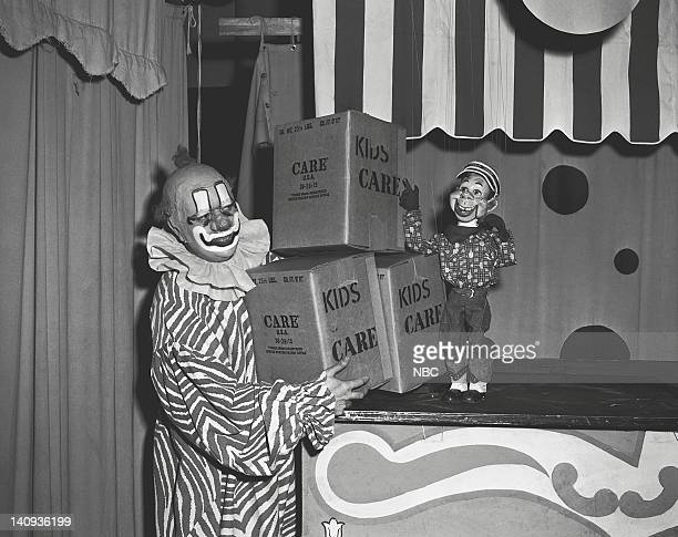 Robert Keeshan as Clarabell the Clown Howdy Doody Photo by NBCU Photo Bank