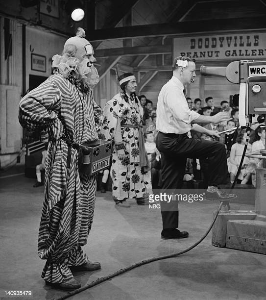 Robert Keeshan as Clarabell the Clown Photo by NBCU Photo Bank