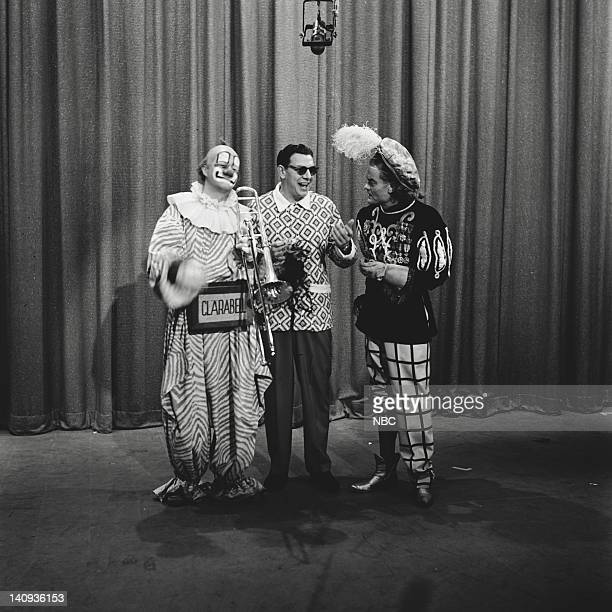 Robert Nicholson as Clarabell the Clown Bob Smith Spike Jones Photo by Herb Ball/NBCU Photo Bank