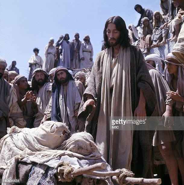 Robert Powell as Jesus Photo by NBC/NBCU Photo Bank
