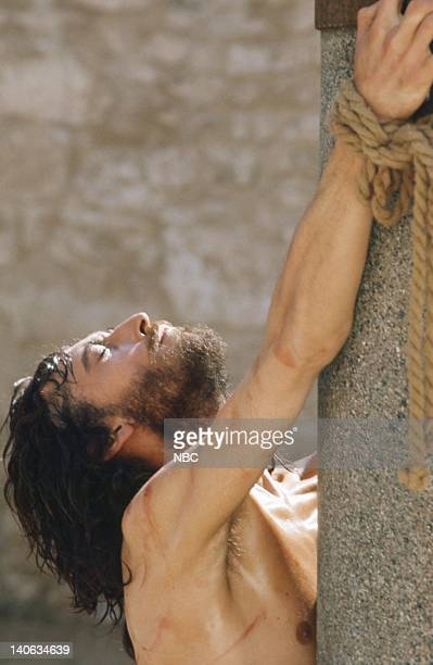 Robert Powell as Jesus Photo by NBC/NBCU Photo Bank