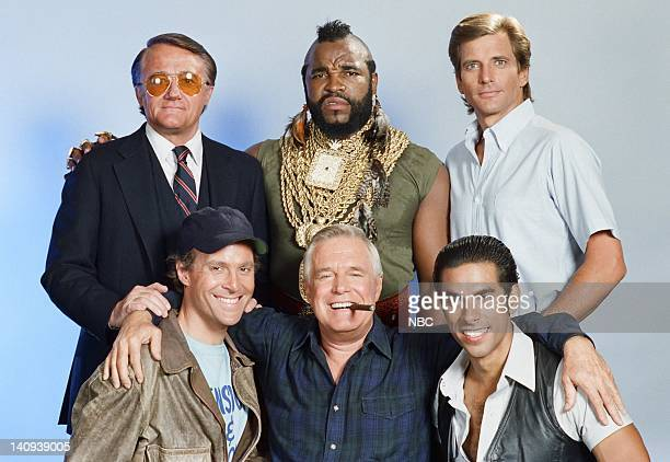 Robert Vaughn as General Hunt Stockwell Mr T as BA Baracus Dirk Benedict as Templeton 'Faceman' Peck Dwight Schultz as 'Howling Mad' Murdock George...