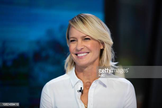 Robin Wright on Wednesday, October 17, 2018 --