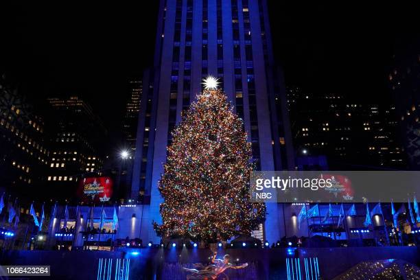 Pictured: Rockefeller Center Christmas Tree at the 2018 Christmas in Rockefeller Center --