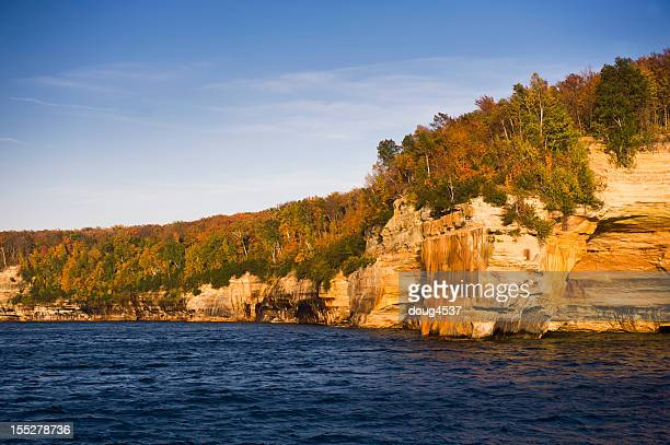 pictured rocks national lakeshore - pictured rocks national lakeshore stock pictures, royalty-free photos & images