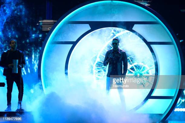 Pictured: Romeo Santos performs at the Mandalay Bay Resort and Casino in Las Vegas, NV on April 25, 2019 --