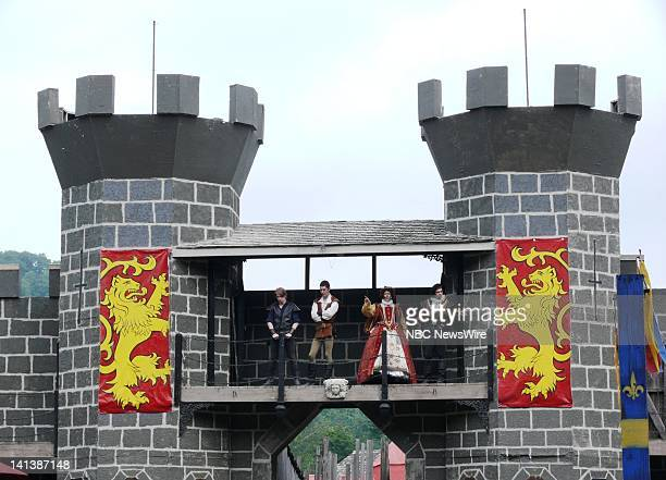 Roselawn Joust Field Castle -- The New York Renaissance Faire in Tuxedo, NY brings the past to the present. The faire serves as a place where actors...