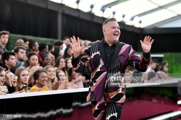 Ross Mathews arrives to the 2019 E People's Choice Awards held at the Barker Hangar on November 10 2019 NUP_188996